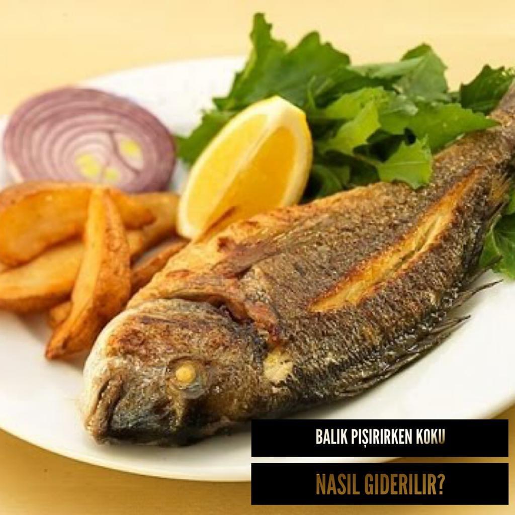 Balık Pişirirken Balık Kokusunu Nasıl Giderilebilir?
