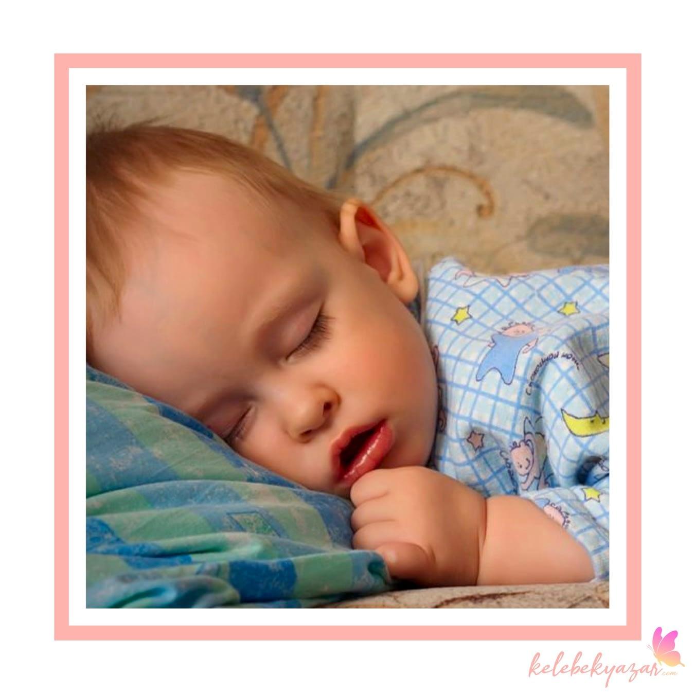 Çocuklar neden ağzı açık uyur?
