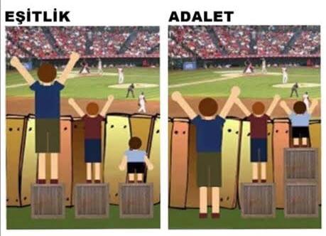 Eşitlik ve Adalet Aynı Şey Mi?