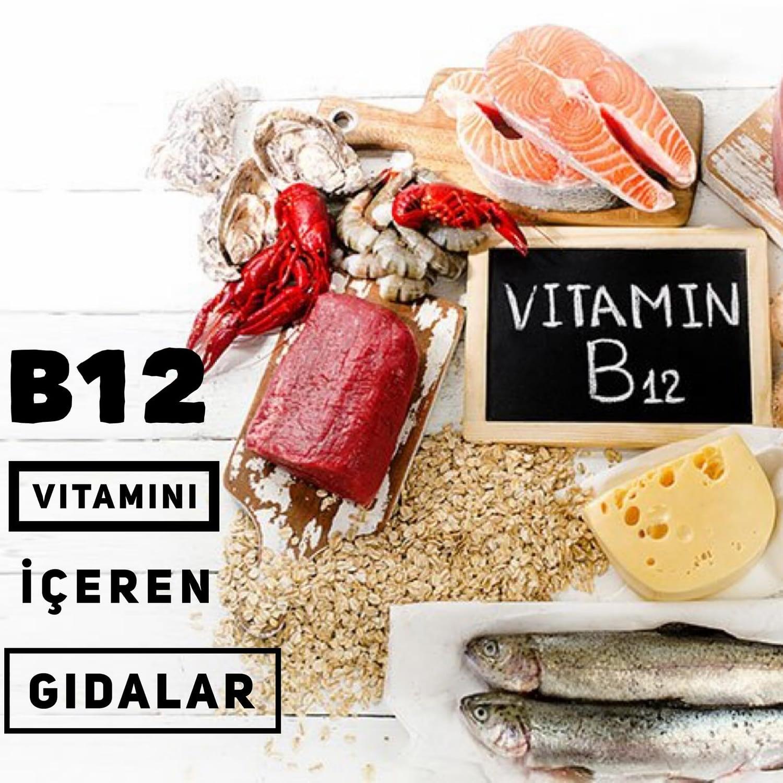 B12 Vitamini İçeren Gıdalar